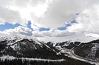 /images/133/2007-04-01-loveland-i70-02.jpg - #03653: view of I-70 and Eisenhower Tunnel from Loveland Pass … April 2007 -- Eisenhower Tunnel, Colorado