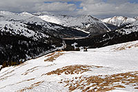 /images/133/2007-04-01-loveland-i70-03.jpg - #03699: view of I-70 from east face of Loveland Pass … April 2007 -- Loveland Pass, Colorado
