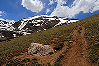 /images/133/2007-06-09-elbert-trail-up1.jpg - #03911: images along South Mt Elbert Trail … June 2007 -- Mt Elbert, Colorado