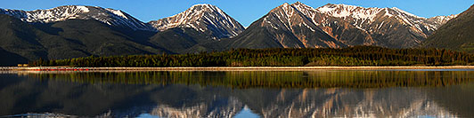 /images/133/2007-06-10-elbert-fbay01.jpg - #03931: Reflection of Mt Elbert in Mt Elbert Forebay … June 2007 -- Mt Elbert Forebay, Twin Lakes, Colorado