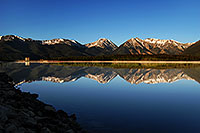 /images/133/2007-06-10-elbert-fbay02.jpg - #03933: Reflection of Mt Elbert in Mt Elbert Forebay … June 2007 -- Mt Elbert Forebay, Twin Lakes, Colorado