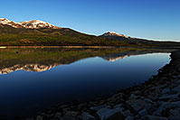 /images/133/2007-06-10-elbert-fbay03.jpg - #03934: Reflection of Mt Elbert in Mt Elbert Forebay … June 2007 -- Mt Elbert Forebay, Twin Lakes, Colorado