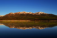 /images/133/2007-06-10-elbert-fbay04.jpg - #03935: Reflection of Mt Elbert in Mt Elbert Forebay … June 2007 -- Mt Elbert Forebay, Twin Lakes, Colorado