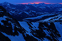 /images/133/2007-06-17-evans-sunset.jpg - #04015: sunset view from Mt Evans … June 2007 -- Mt Evans, Colorado