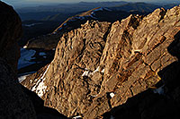 /images/133/2007-06-17-evans-top-view-down-rock.jpg - #04025: view down from Mt Evans … June 2007 -- Mt Evans, Colorado