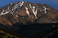 /images/133/2007-06-24-plata-eve-close.jpg - #04091: La Plata Peak from Highway 82 … June 2007 -- La Plata Peak, Colorado