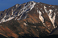 /images/133/2007-06-24-plata-eve-close2.jpg - #04092: Closeup view of La Plata Peak from Highway 82 … June 2007 -- La Plata Peak, Colorado