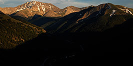 /images/133/2007-06-24-plata-eve-pano.jpg - #04094: La Plata Peak on the left … June 2007 -- La Plata Peak, Colorado