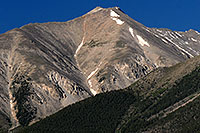 /images/133/2007-06-25-princ-view02-close.jpg - #04119: Closeup view of Mt Princeton from Buena Vista … June 2007 -- Mt Princeton, Colorado