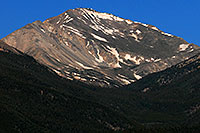 /images/133/2007-06-25-yale-view-close.jpg - #04077: Closeup view of Mt Yale from I-24 near Buena Vista … June 2007 -- Mt Yale, Colorado