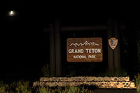 /images/133/2007-07-20-teton-sign.jpg - #04286: Grand Teton National Park entrance from Togwotee Pass … July 2007 -- Tetons, Wyoming