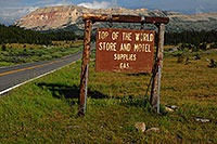 /images/133/2007-07-26-mt-bear-creek-si2.jpg - #04436: Top of the World - Store and Motel, Supplies, Gas - along Beartooth Pass Highway … July 2007 -- Little Bear Creek, Beartooth Pass(MT), Montana