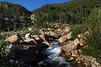/images/133/2007-08-25-rm-alluvial-8877.jpg - #04576: Roaring River - below the Alluvial Fan in Rocky Mountain National Park … August 2007 -- Alluvial Fan, Rocky Mountain National Park, Colorado