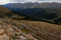 /images/133/2007-09-03-rm-gore-0920.jpg - #04668: View from Gore Range Lookout (12,020 ft), along Trail Ridge Road … Sept 2007 -- Gore Range, Rocky Mountain National Park, Colorado