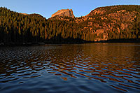 /images/133/2007-09-12-rm-bear-3021.jpg - #04702: Bear Lake (elev 9,475 ft) in the morning … Sept 2007 -- Bear Lake, Rocky Mountain National Park, Colorado
