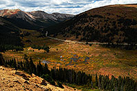 /images/133/2007-09-15-indep-rd-3507.jpg - #04711: View towards Aspen from Independence Pass … Sept 2007 -- Independence Pass, Colorado
