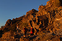 /images/133/2008-03-03-squaw-2537.jpg - #04908: Hikers at Squaw Peak Mountain in Phoenix … March 2008 -- Squaw Peak, Phoenix, Arizona