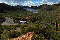 /images/133/2008-03-16-supers-4618.jpg - #04968: Canyon Lake in Superstitions … March 2008 -- Apache Trail Road #2, Superstitions, Arizona
