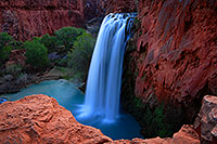 /images/133/2008-04-05-hav-havasu-0136.jpg - #05169: Havasu Falls - 120 ft drop (37 meters) … April 2008 -- Havasu Falls, Arizona