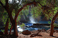 /images/133/2008-04-20-hav-morning-3551.jpg - #05302: Morning at Havasu Falls … April 2008 -- Havasu Falls!, Havasu Falls, Arizona