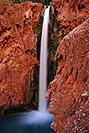/images/133/2008-05-17-hav-mooney-7805v.jpg - #05408: Mooney Falls - 210 ft drop (64 meters) … May 2008 -- Mooney Falls, Havasu Falls, Arizona