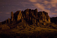 /images/133/2008-08-30-supers-mtn-22867.jpg - #05860: Stars over Superstition Mountain … August 2008 -- Apache Trail Road, Superstitions, Arizona