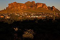 /images/133/2008-09-06-apache-junction-23978.jpg - #05854: View of Apache Junction by Superstition Mountain … September 2008 -- Apache Junction, Superstitions, Arizona