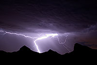 /images/133/2008-09-10-supers-light-purple-25373.jpg - #05845: Lightning in Superstitions, Arizona … September 2008 -- Superstitions, Arizona