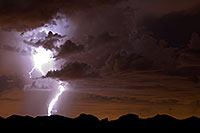 /images/133/2008-09-10-supers-light-yellow-24764.jpg - #05849: Lightning in Superstitions, Arizona … September 2008 -- Superstitions, Arizona