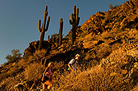 /images/133/2008-09-16-squaw-hikers-27054.jpg - #05935: Hikers at Squaw Peak … September 2008 -- Squaw Peak, Phoenix, Arizona