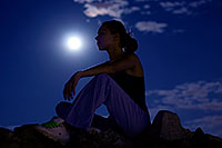 /images/133/2008-09-16-squaw-kseniya-27357.jpg - #05875: Kseniya in moonlight … September 2008 -- Squaw Peak, Phoenix, Arizona