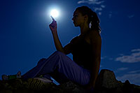 /images/133/2008-09-16-squaw-kseniya-27364.jpg - #05932: Kseniya in moonlight … September 2008 -- Squaw Peak, Phoenix, Arizona