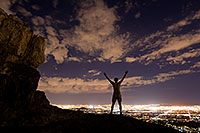 /images/133/2008-09-20-squaw-night-me-29176.jpg - #05890: Night at Squaw Peak … September 2008 -- Squaw Peak, Phoenix, Arizona