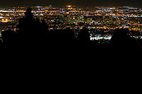 /images/133/2008-09-24-squaw-city-30118.jpg - #05930: View from Squaw Peak south at Phoenix … September 2008 -- Squaw Peak, Phoenix, Arizona