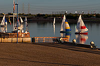 /images/133/2008-10-19-tempe-sailboats-36349.jpg - #05937: Sailboats by North Bank Boat Landing at Tempe Town Lake … October 2008 -- Tempe Town Lake, Tempe, Arizona