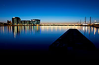 /images/133/2008-10-29-tempe-lake-41643.jpg - #05982: After sunset at North Bank Boat Ramp at Tempe Town Lake … October 2008 -- Tempe Town Lake, Tempe, Arizona
