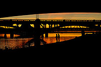 /images/133/2008-11-13-tempe-fishing-46608.jpg - #06026: Fishing by Mill Road bridge at Tempe Town Lake … November 2008 -- Tempe Town Lake, Tempe, Arizona
