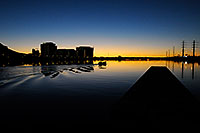 /images/133/2008-11-16-tempe-lake-48669.jpg - #06094: Boat at North Bank Boat Ramp at Tempe Town Lake … November 2008 -- Tempe Town Lake, Tempe, Arizona