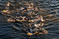 /images/133/2008-11-23-ironman-swim_9-52632.jpg - #06219: 0:42:20 - KIERAN DOE #30 leading #5 and ANDREAS RAELERT #9 (middle) - Swim Pros … November 2008 -- Tempe Town Lake, Tempe, Arizona