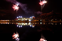 /images/133/2008-11-28-tempe-fireworks-56691.jpg - #06243: ASU football fireworks over Tempe Town Lake … November 2008 -- Tempe Town Lake, Tempe, Arizona