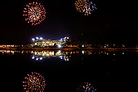 /images/133/2008-11-28-tempe-fireworks-56752.jpg - #06246: ASU football fireworks over Tempe Town Lake … November 2008 -- Tempe Town Lake, Tempe, Arizona