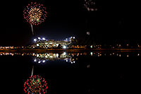 /images/133/2008-11-28-tempe-fireworks-56817.jpg - #06301: ASU football fireworks over Tempe Town Lake … November 2008 -- Tempe Town Lake, Tempe, Arizona