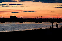 /images/133/2008-11-28-tempe-sunset-56570.jpg - #06304: Fishing at sunset at Tempe Town Lake … November 2008 -- Tempe Town Lake, Tempe, Arizona