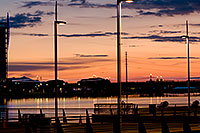 /images/133/2008-11-28-tempe-sunset-56609.jpg - #06306: Tempe Town Marina at sunset at Tempe Town Lake … November 2008 -- Tempe Town Lake, Tempe, Arizona