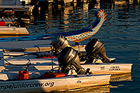 /images/133/2008-11-29-tempe-marina-57609.jpg - #06318: Boats and tail of Chinese Dragon Boat at Tempe Town Marina … November 2008 -- Tempe Town Lake, Tempe, Arizona