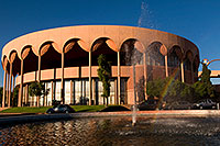 /images/133/2008-11-30-asu-fountain-58066.jpg - #06325: Gammage Auditorium at ASU … November 2008 -- Arizona State University, Tempe, Arizona
