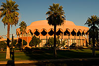 /images/133/2008-11-30-asu-fountain-58268.jpg - #06332: Gammage Auditorium at ASU … November 2008 -- Arizona State University, Tempe, Arizona