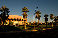 /images/133/2008-11-30-asu-fountain-58275.jpg - #06283: Gammage Auditorium at ASU … November 2008 -- Arizona State University, Tempe, Arizona