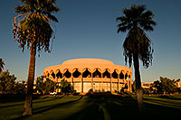 /images/133/2008-11-30-asu-fountain-58280.jpg - #06336: Gammage Auditorium at ASU … November 2008 -- Arizona State University, Tempe, Arizona