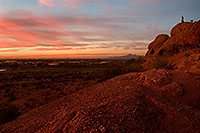 /images/133/2008-12-02-papago-sunset-58816.jpg - #06308: Sunset at Papago Park … December 2008 -- Papago Park, Phoenix, Arizona